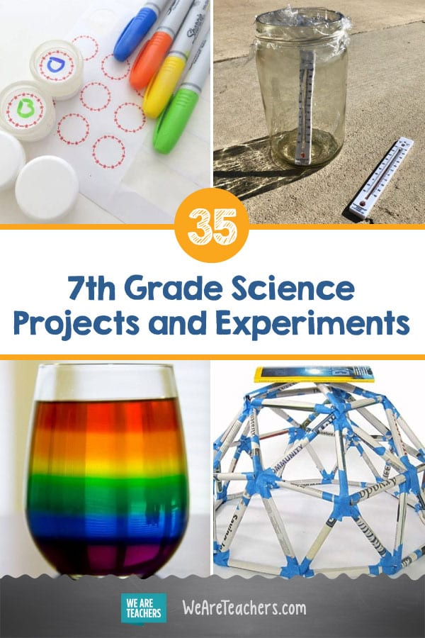35 of the Best 7th Grade Science Projects and Experiments