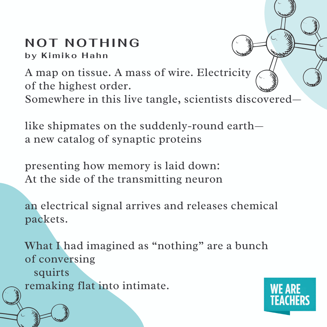Not Nothing science poem