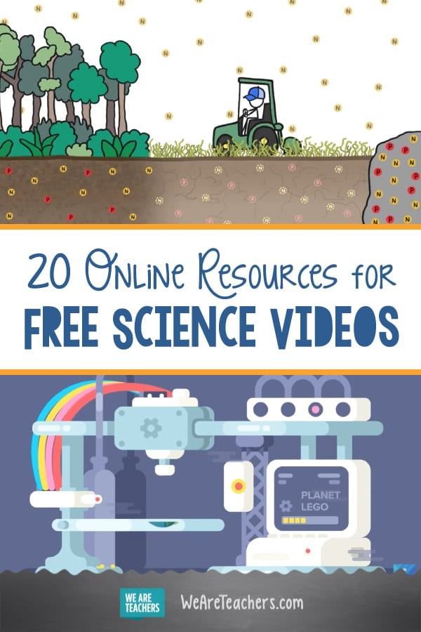 20 Online Resources for Fantastic Free Science Videos