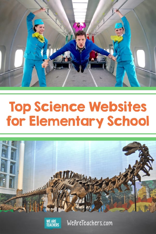 The Best Science Websites for Elementary School