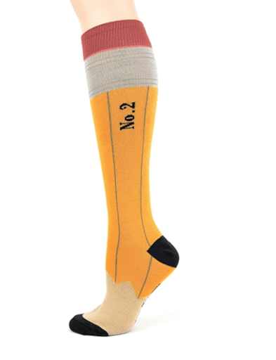 Pencil Socks gift idea