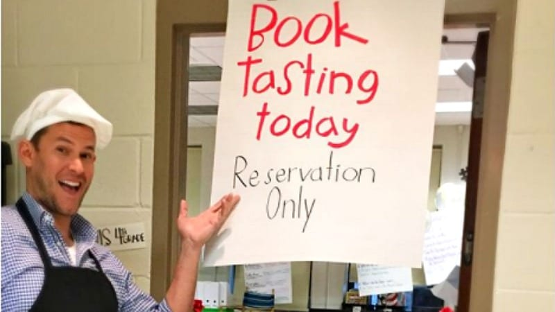 A Book Tasting Is a Fun and Fresh Way to Introduce Students to New Reads
