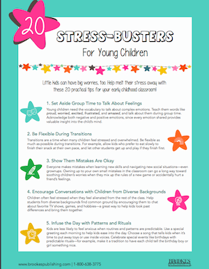 Stress Busters Handout - Early Childhood Resources