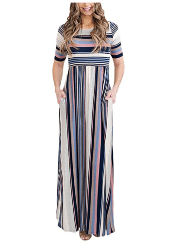 Casual Dresses for Teachers - High Waist