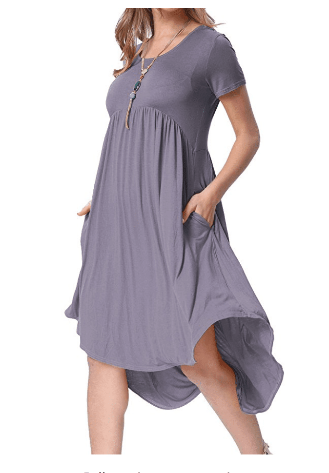 Casual Dresses for Teachers - Scoop Neck