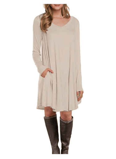 Casual Dresses for Teachers - Boots