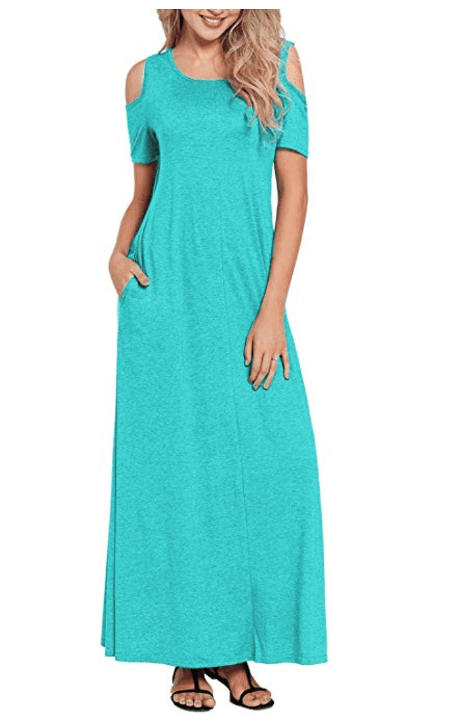 6135724f784e There are three colors to choose from, and this dress is a true mix of  being a maxi and still being casual.