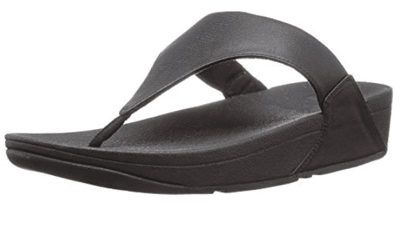LULU Fit Flops in black