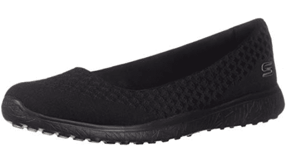 Skechers Microburst Flat in black
