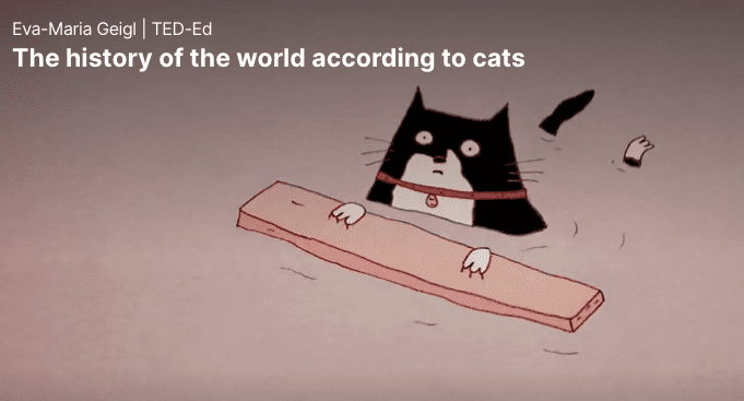 TED Talks: History according to cats
