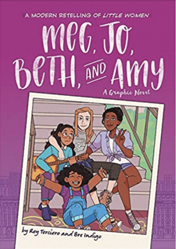 Meg, Jo, Beth, and Amy book cover (Summer Reading List)