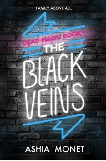 The Black Veins book cover (Summer Reading List)
