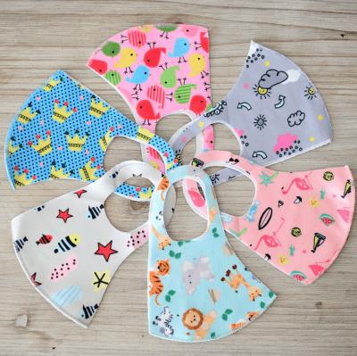 Kids reusable polyester blend masks