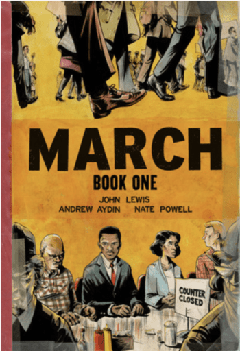 March: Book One book cover