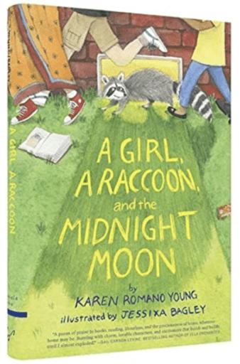 A Girl, A Raccoon, and the Midnight Moon (Summer Reading List)