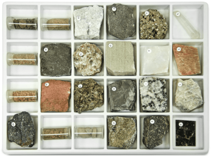 geology hands-on science kit