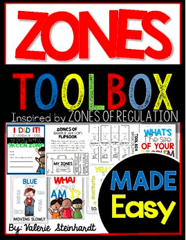 poster for zones toolbox product for teachers