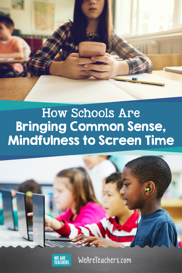 How Schools Are Bringing Common Sense, Mindfulness to Screen Time