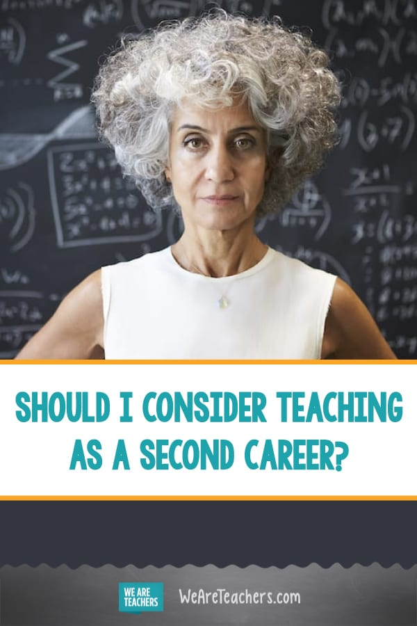 Should I Consider Teaching as a Second Career?