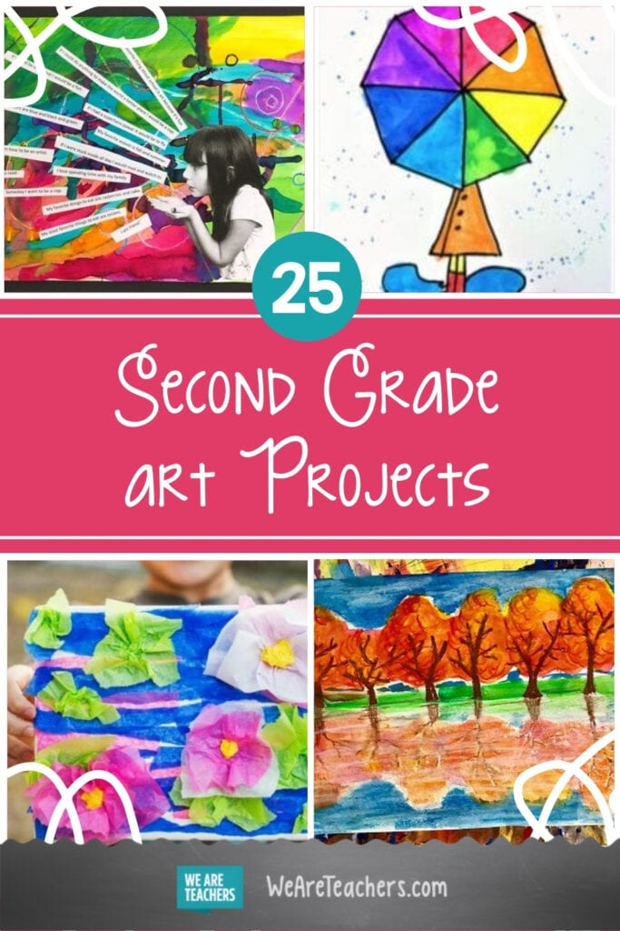 25 Second Grade Art Projects Full of Imagination and Creativity