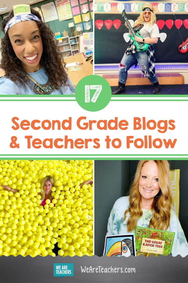 17 Terrific Second Grade Blogs and Teachers to Follow