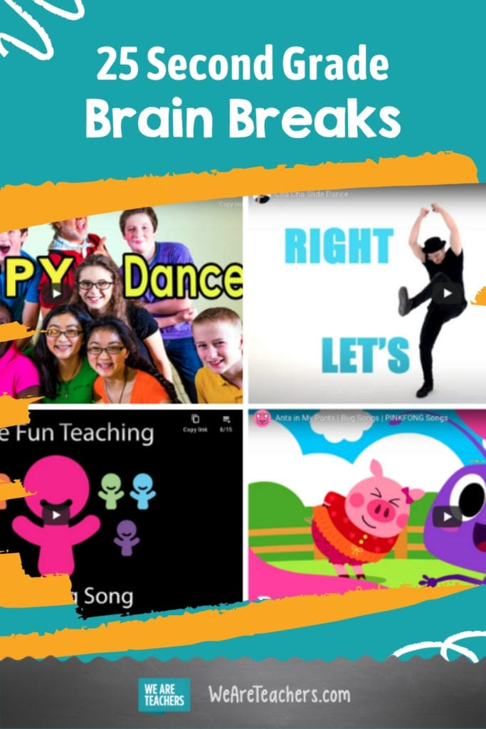 25 Second Grade Brain Breaks For When You Need to Move