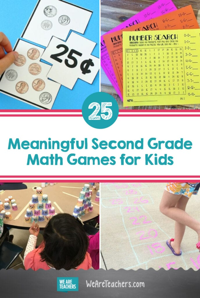 25 Meaningful Second Grade Math Games Kids Will Enjoy