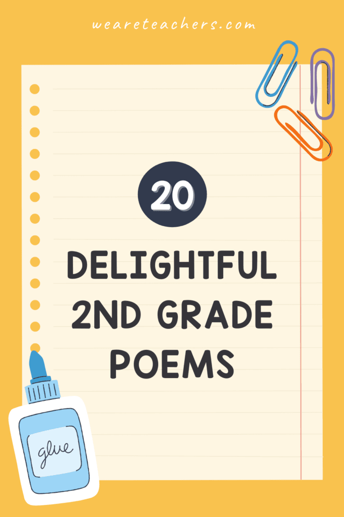 The Best 2nd Grade Poems To Delight Your Students