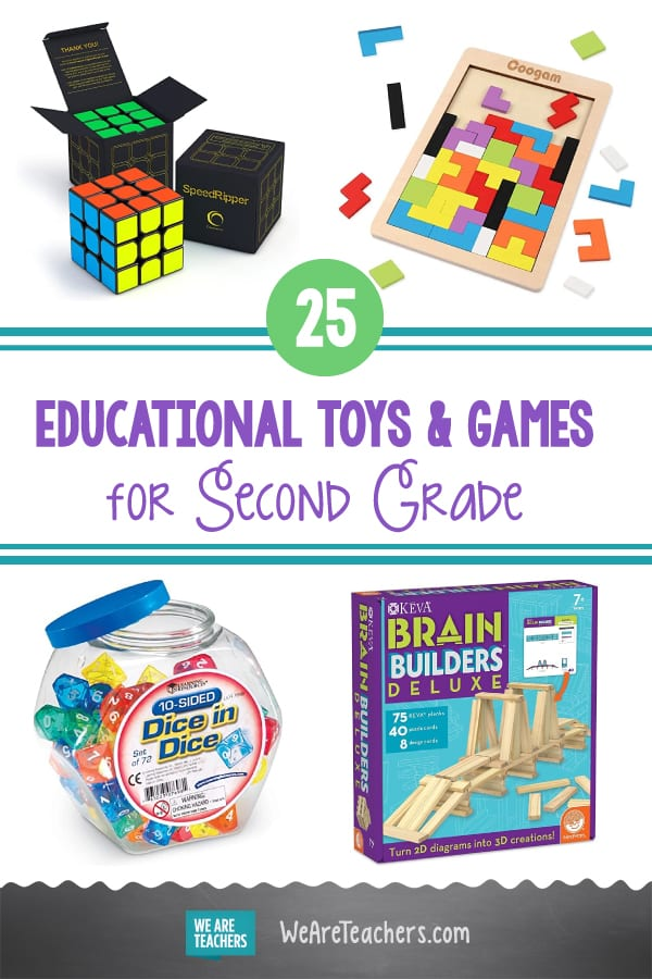 25 Best Educational Toys and Games for Second Grade