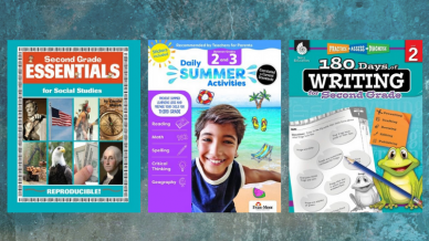 Second Grade Workbooks