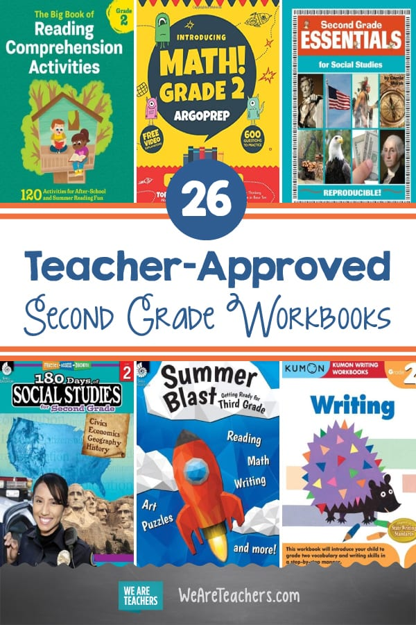 26 Teacher-Approved Second Grade Workbooks