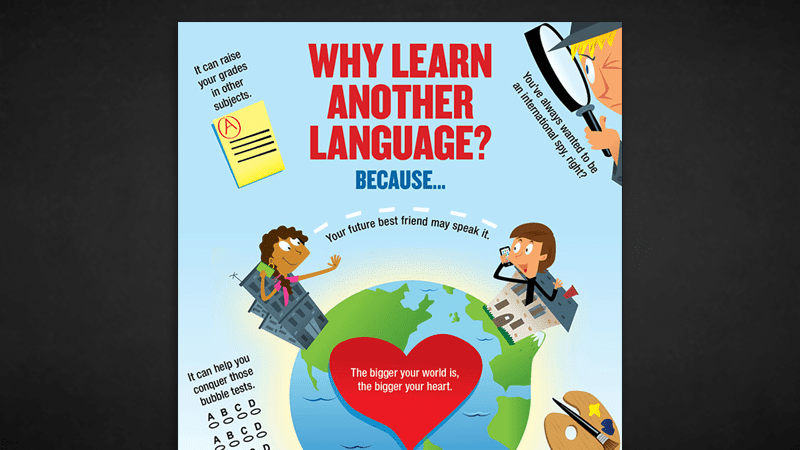 Modern Languages Classroom Posters ~ The benefits of second language acquisition classroom