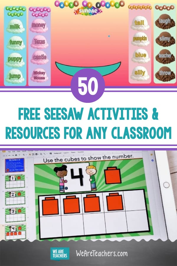 50 Free Seesaw Activities and Resources For Every Kind of Classroom