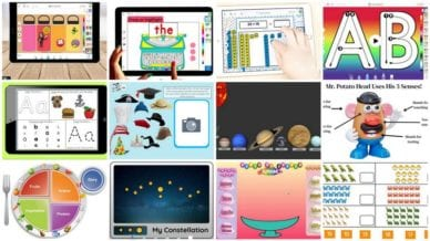 Collage of Seesaw Activities from WeAreTeachers