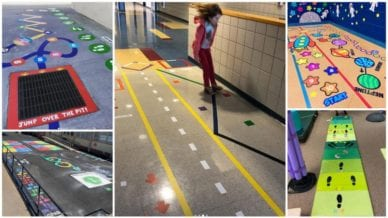 Collage of Sensory Path Photos