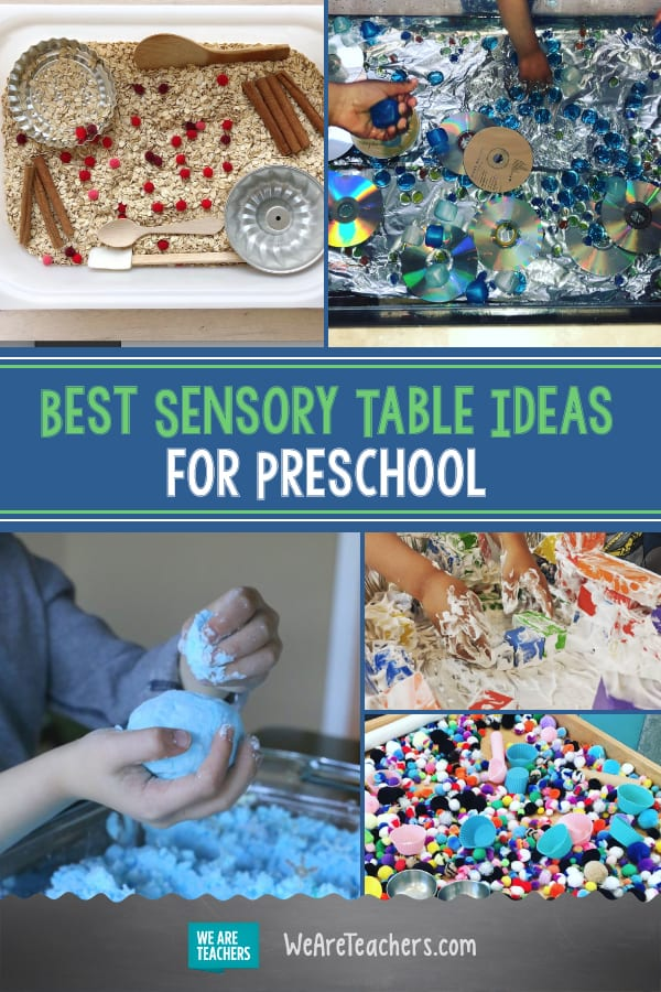 Preschool Teachers, You'll Want to Try Every One of These Fun Sensory Tables