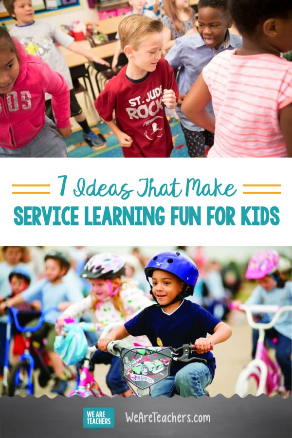 7 Ideas That Make Service Learning Fun for Kids