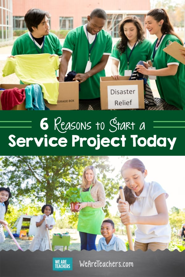 6 Reasons to Start a Service Project Today (and Sign Up for a $250 Grant)