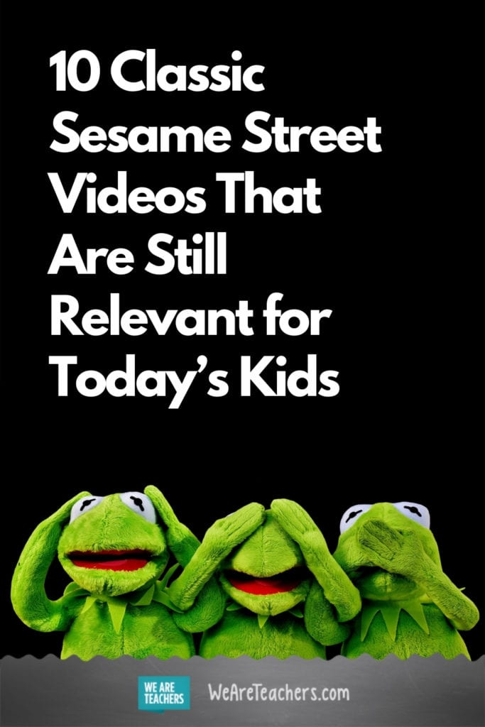 10 Classic Sesame Street Videos That Are Still Relevant for Today's Kids
