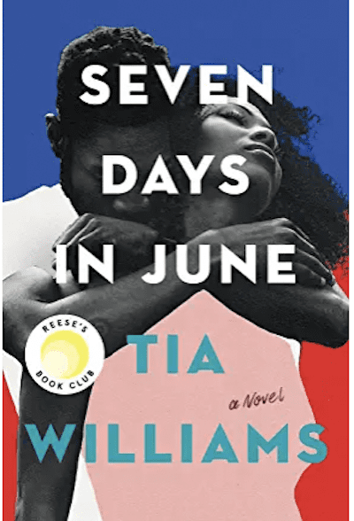 cook cover: Seven Days In June By Tia Williams, as an example of books for teachers to read over the summer