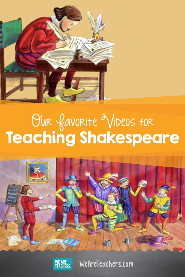 Our Favorite Videos for Teaching Shakespeare