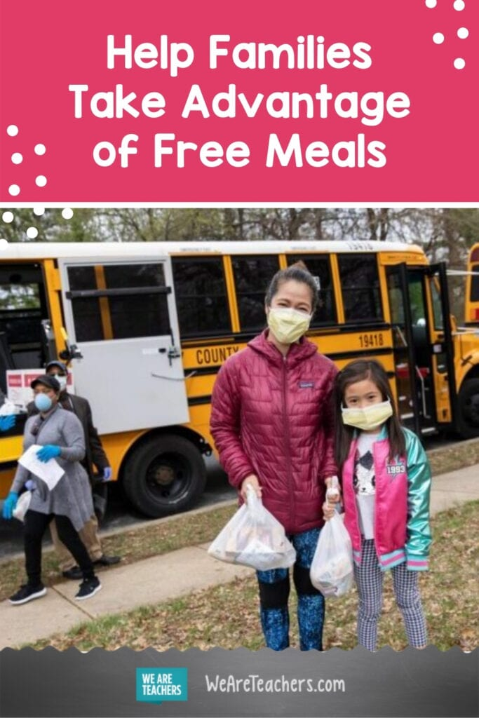 Too Many Families In Need Aren't Taking Advantage Of Free Meals. Here's How You Can Help.