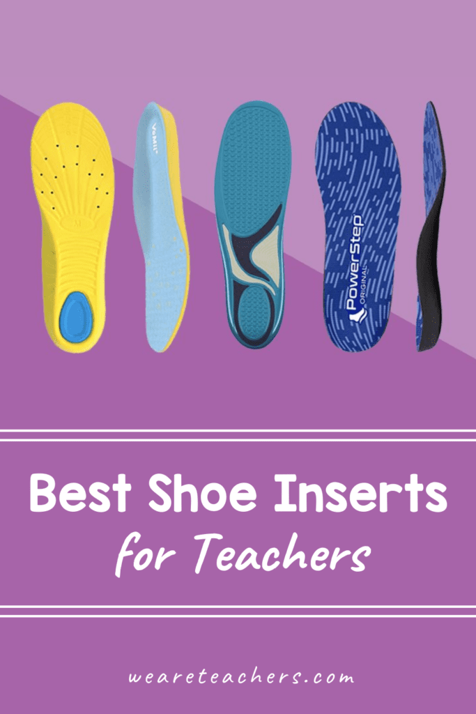 The Best Shoe Inserts for Teachers on Their Feet All Day
