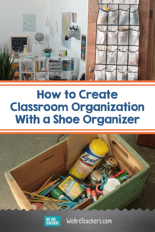 A Shoe Organizer Might be the Answer to Your Classroom Organization Problems