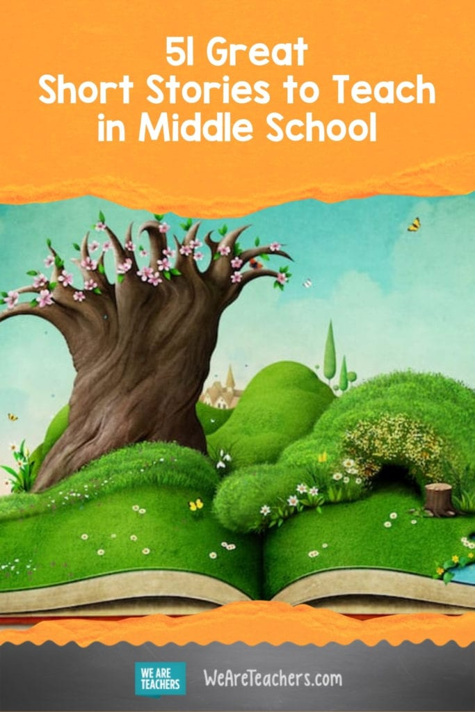 51 Great Short Stories to Teach in Middle School