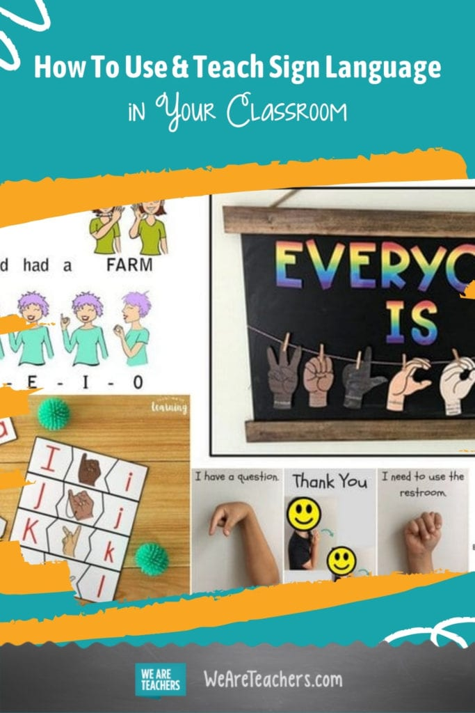 How To Use and Teach Sign Language (ASL) In Your Classroom