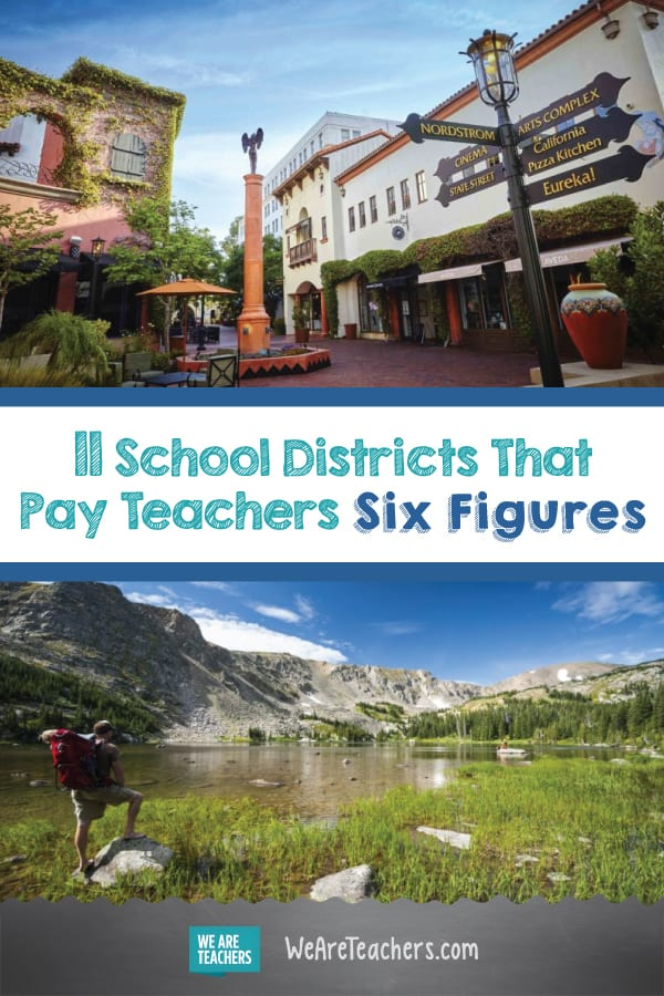 11 School Districts That Pay Teachers Six Figures
