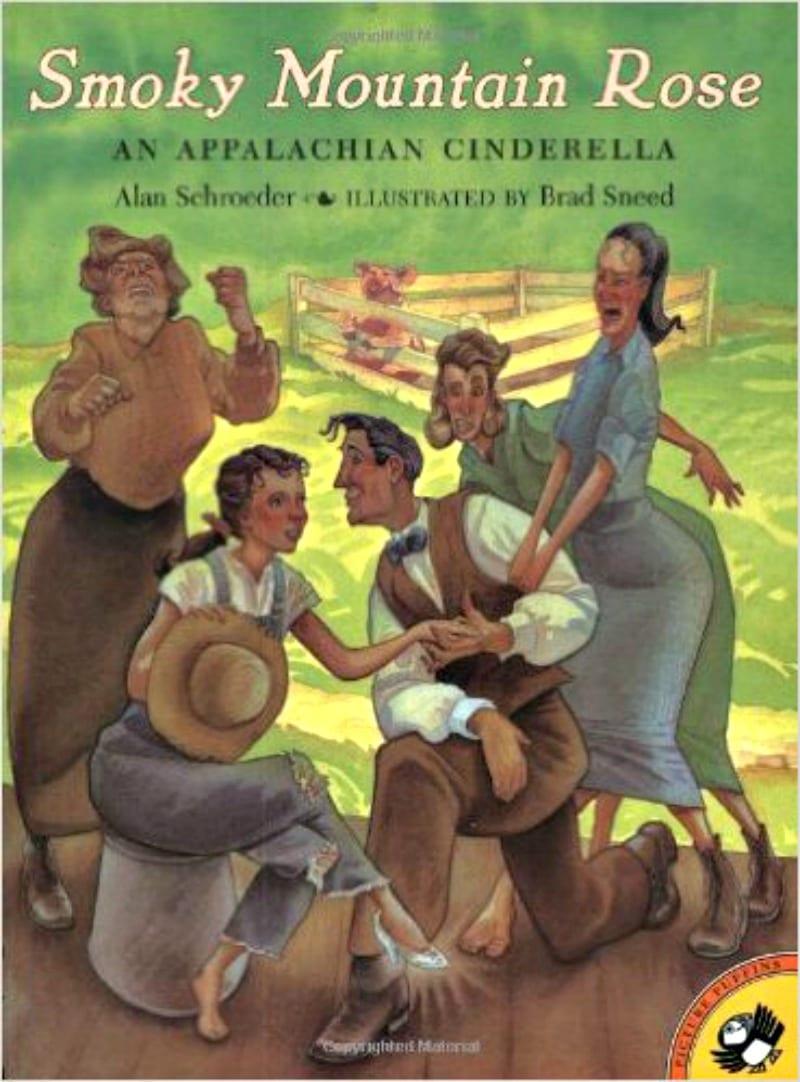 Book cover of Smoky Mountain Rose: an Appalachian Cinderella