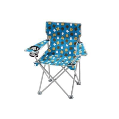 S'mores camping chairs for camping themed classrooms.