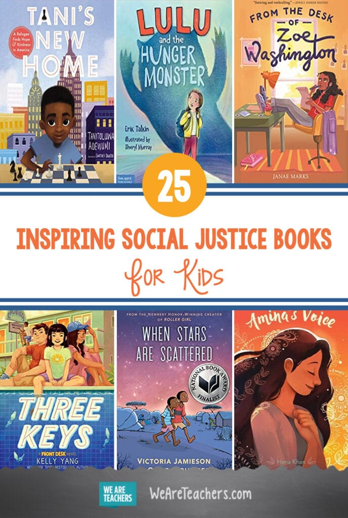 25+ Inspiring Social Justice Books for Kids of All Ages